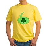 SHAMROCK THOUGHTS Yellow T-Shirt
