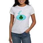 SHAMROCK THOUGHTS Women's T-Shirt