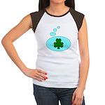 SHAMROCK THOUGHTS Women's Cap Sleeve T-Shirt