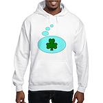 SHAMROCK THOUGHTS Hooded Sweatshirt