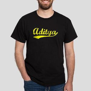 Vintage Aditya (Gold) Dark T-Shirt