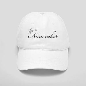 Due In November Formal Script Cap