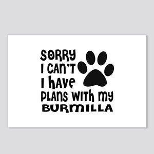 I Have Plans With My Burm Postcards (Package of 8)