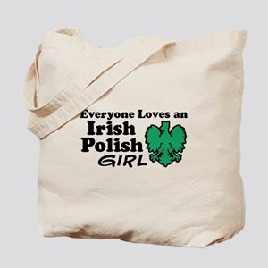 Irish Polish Girl Tote Bag