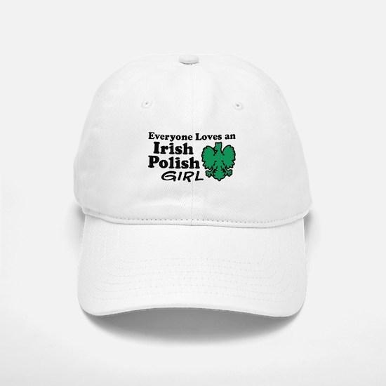Irish Polish Girl Baseball Baseball Cap