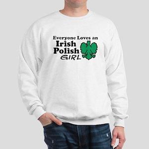 Irish Polish Girl Sweatshirt