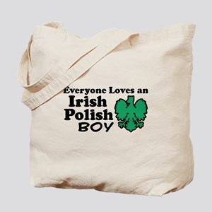 Irish Polish Boy Tote Bag