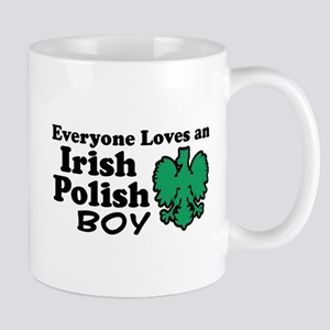 Irish Polish Boy Mug