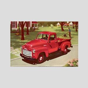 1952 GMC Pickup Rectangle Magnet