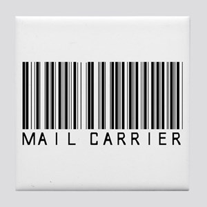 Mail Carrier Barcode Tile Coaster