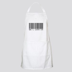 Mail Carrier Barcode BBQ Apron