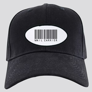Mail Carrier Barcode Black Cap