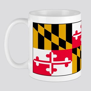 Maryland Blank Flag Mug