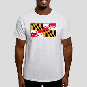 Maryland Blank Flag Light T-Shirt