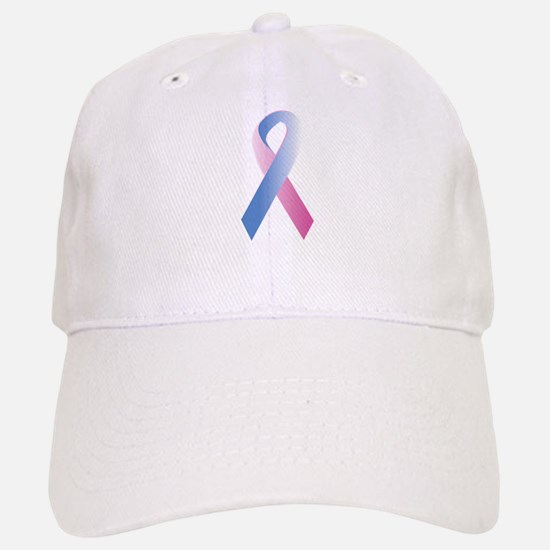 Pink Blue Awareness Baseball Baseball Cap