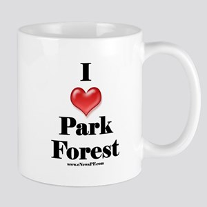 I Love Park Forest Mug