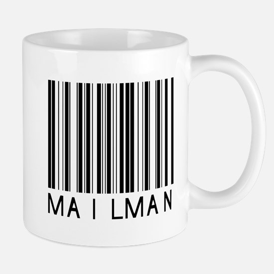 Mailman Barcode Mug