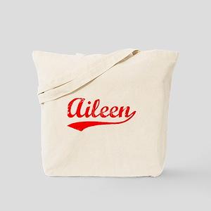 Vintage Aileen (Red) Tote Bag