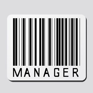 Manager Barcode Mousepad