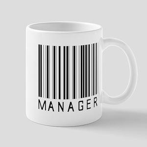 Manager Barcode Mug