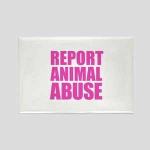 Report Animal Abuse Magnets