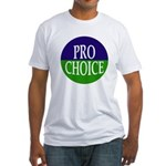 Pro-Choice Fitted T-Shirt