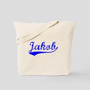 Vintage Jakob (Blue) Tote Bag