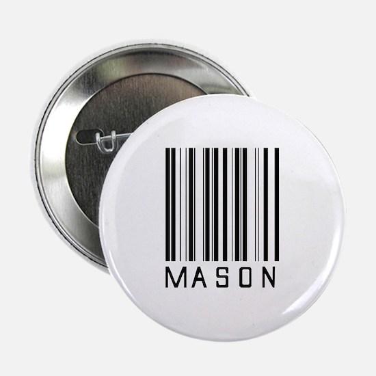 "Mason Barcode 2.25"" Button"