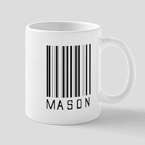 Mason Barcode Mug