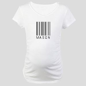 Mason Barcode Maternity T-Shirt
