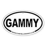 Gammy Oval Sticker