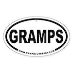 Gramps Oval Sticker