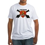 12TH MARINES-VIETNAM Fitted T-Shirt