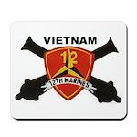 12TH MARINES-VIETNAM Mousepad