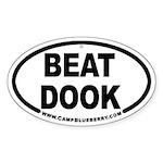 Beat Dook Oval Sticker