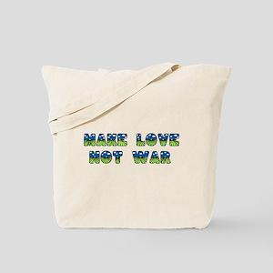 Make Love Fancy Letters Tote Bag