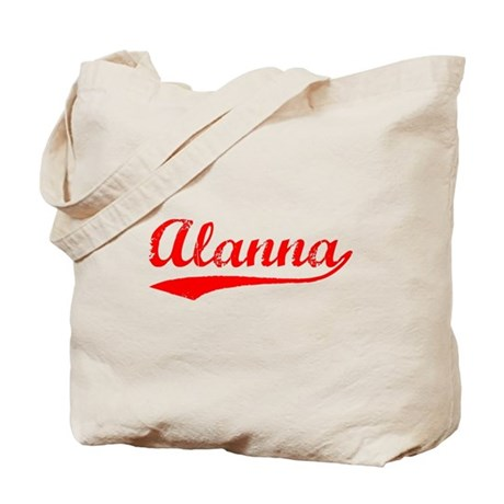 Vintage Alanna (Red) Tote Bag