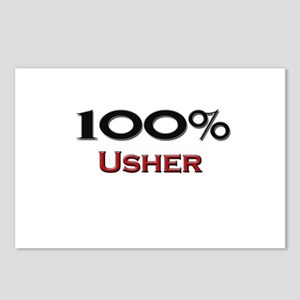 100 Percent Usher Postcards (Package of 8)