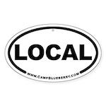 Local Oval Sticker