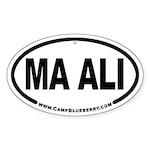 Ma Ali Oval Sticker