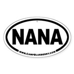 Nana Oval Sticker