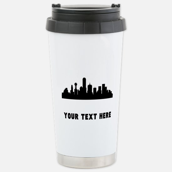 Dallas Cityscape Skyline (Custom) Mugs