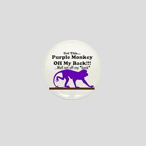 monkeyoffmyback Mini Button