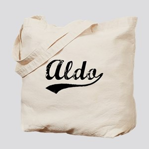 Vintage Aldo (Black) Tote Bag