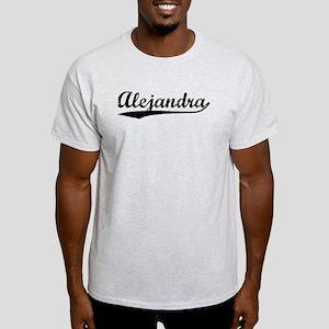 Vintage Alejandra (Black) Light T-Shirt