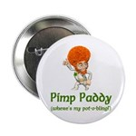 """Pimp Paddy 2.25"""" Button (100 pack)"""