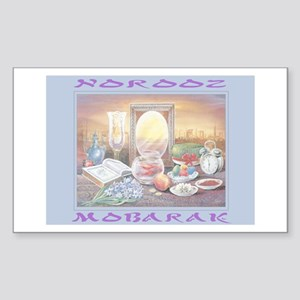 Norooz Mobarak Rectangle Sticker