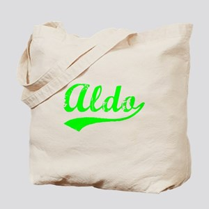 Vintage Aldo (Green) Tote Bag