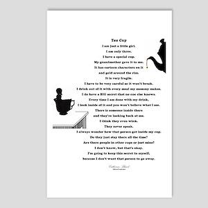 Tea Cup Poem Postcards (Package of 8)