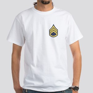 Staff Sergeant White T-Shirt 3NG